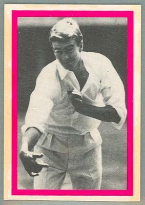 1974 Sunicrust Cricket - Australia v England, Ashley Mallett trade card