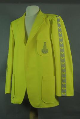 Blazer, 1980 Moscow Olympic Games jury uniform