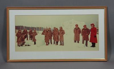 Photograph of 1980 Australian Winter Olympic Games team, Lake Placid