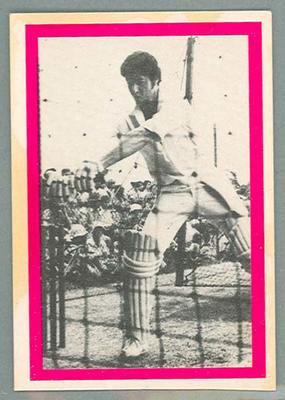1974 Sunicrust Cricket - Australia v England, Ashley Woodcock trade card