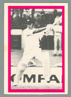 1974 Sunicrust Cricket - Australia v England, Doug Walters trade card