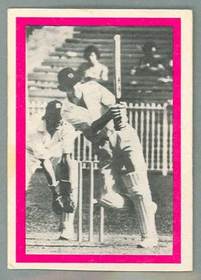 1974 Sunicrust Cricket - Australia v England, John Inverarity trade card