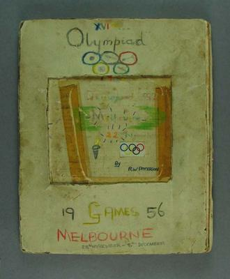 Scrapbook, 1956 Melbourne Olympic Games