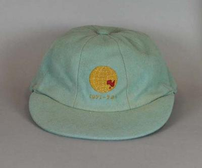 Cricket cap, autographed, worn by Gary Sobers during the 1971-72 Rest of World XI v Australia