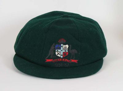 Baggy green worn by Len Darling in 1936-37
