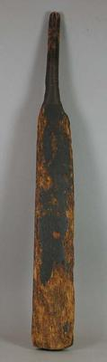 Second oldest cricket bat in existence circa 1746