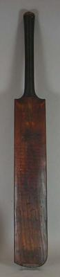 Inscribed Cricket bat used by RA Duff in 1904-05