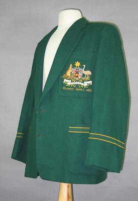Blazer, 1952 Australian Olympic team