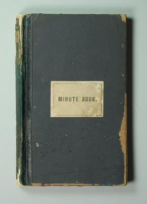 Victorian Football League minute book, 1900-01