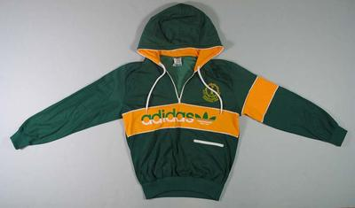 Tracksuit top, worn by Stan Golinski at 1986 Edinburgh Commonwealth Games