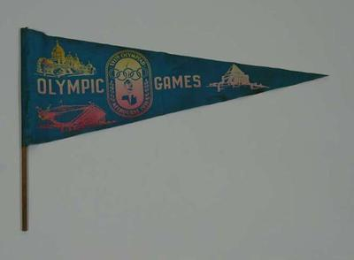 Pennant, 1956 Olympic Games
