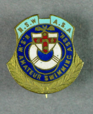 Badge, NSW Amateur Swimming Association