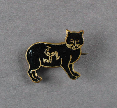 Badge, Isle of Man black cat emblem
