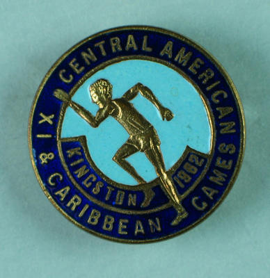 Badge, IX Central American & Caribbean Games - Kingston 1962