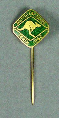 Stick pin, British Empire & Commonwealth Games Perth 1962 - kangaroo design