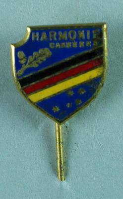 Stick pin, Harmonie Canberra