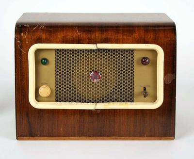 Remote control unit, used for broadcast during 1956 Olympic Games; Audio-Visual; 1999.3556.1