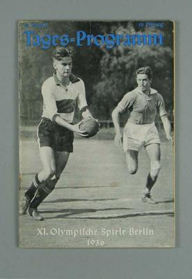 Programme for 1936 Berlin Olympic Games events, 12 August