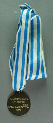 Medal, FISA Championships 1990 Lake Barrington