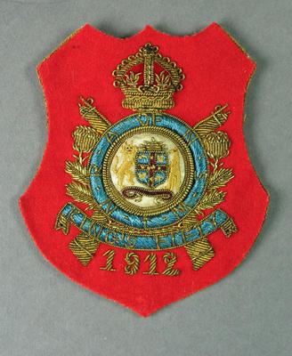 Bullion badge, King's Fifty 1912