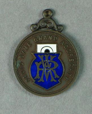 Medal, VRA David Syme Grand Aggregate 1934