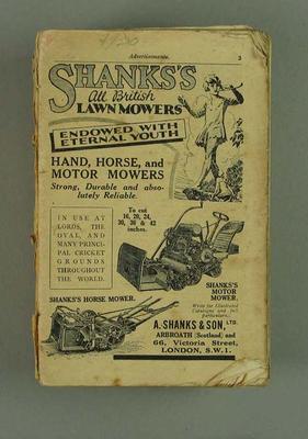 Wisden Cricketers' Almanack, 1930