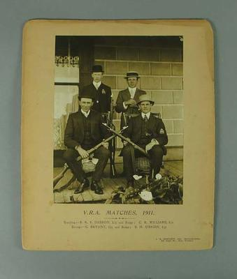 Photograph of VRA Matches group, 1911