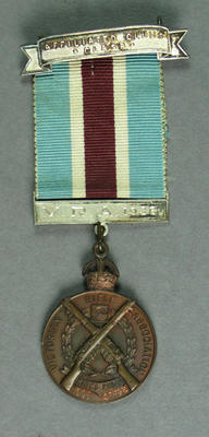 Medal, Victorian Rifle Association King's Prize 1933