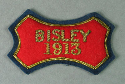 Bullion badge, Bisley 1913