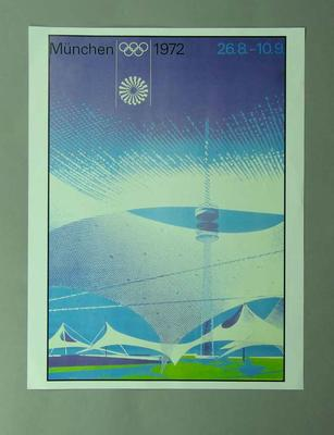 Poster, 1972 Munich Olympic Games