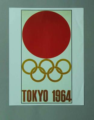 Poster, 1964 Tokyo Olympic Games