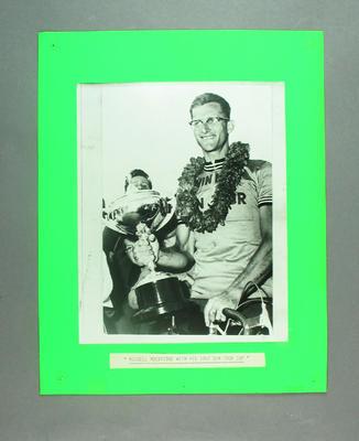 Photograph of Russell Mockridge, 1957 Sun Tour Cup Winner