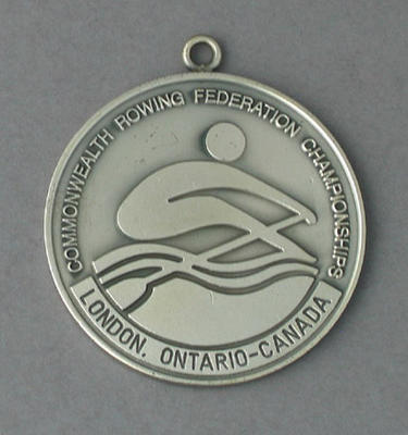 Medal won by Peter Antonie, 1994 Commonwealth Rowing Federation Championships