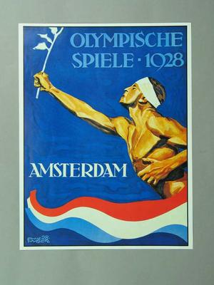 Poster, 1928 Amsterdam Olympic Games
