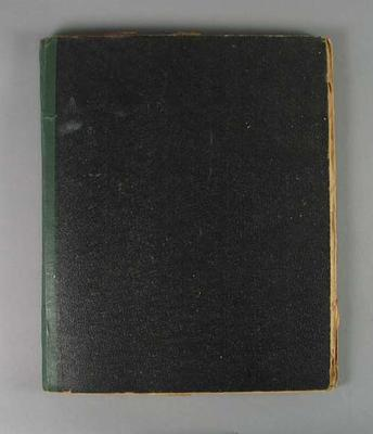Scrapbook, contains material associated with Victorian swimming teams c1930s