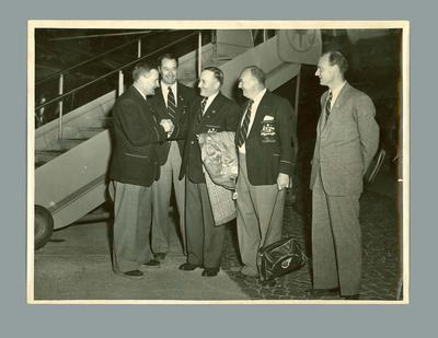 Photograph of 1956 Olympic Games Organizing Committee, c1952