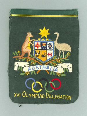 Blazer pocket, Australian XVI Olympiad Delegation