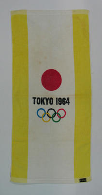 Towel - 1964 Olympic Games Tokyo souvenir