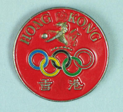 Badge - Hong Kong Olympic Badge