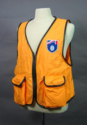 Vest - worn by Robert Jeffkins at AFL Football Finals 1999 at the MCG