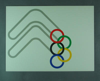 Placard, Brisbane's Bid for 1992 Olympic Games