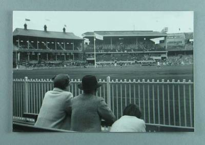 Photograph of MCG during Australian Football demonstration, 1956 Olympic Games