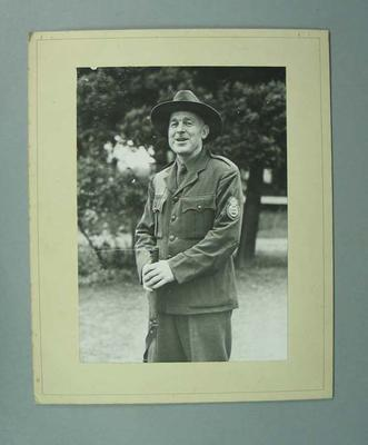 Photograph -  P.A. Pavey, winner 1948 Kings Prize, National Rifle Association Bisley