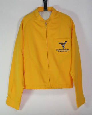Official's jacket, 1982 Commonwealth Games