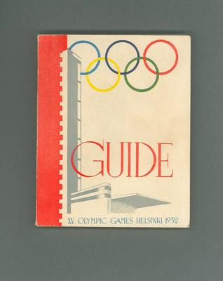 Guide for 1952 Olympic Games