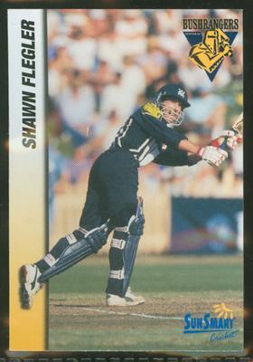 1998 VCA Bushrangers Shawn Flegler trade card