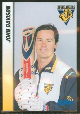 1998 VCA Bushrangers John Davison trade card