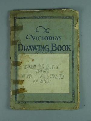 Scrapbook detailing Australia v England Test series, 1930