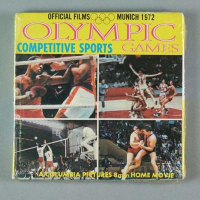 8mm film, 1972 Olympic Games Competitive Sports