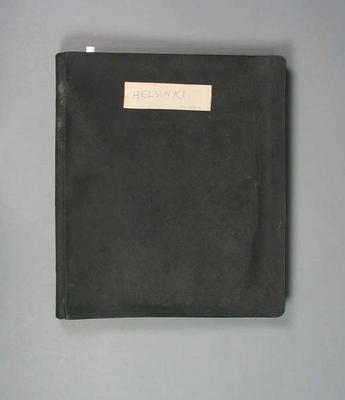 Diary of 1952 Olympic Games visit, compiled by George Moir